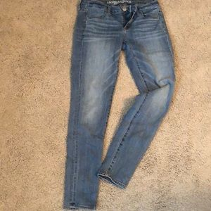 Medium blue jeans
